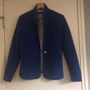 Zara large blue blazaar